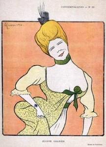 Jeanne Granier Paru dans Le Rire N° 213 le 3 décembre 1898